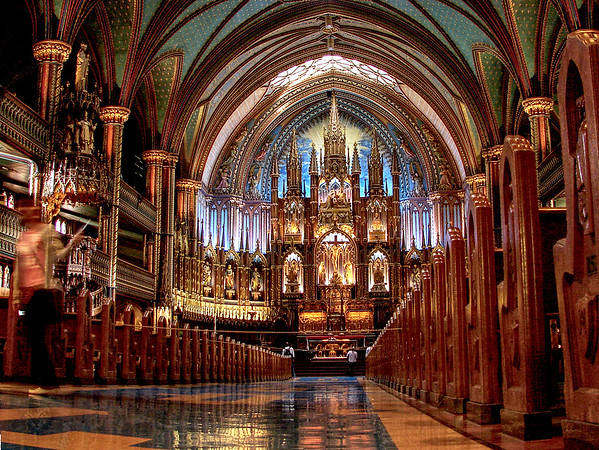 Cathedral - Montreal