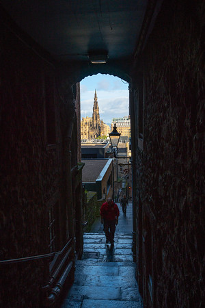 Top of Advocate's Close, Edinburgh