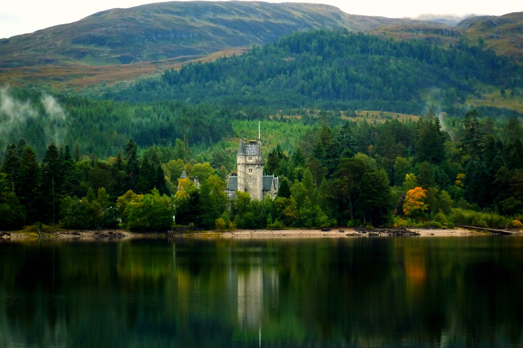 Ardverikie, Loch Laggan, Scotland
