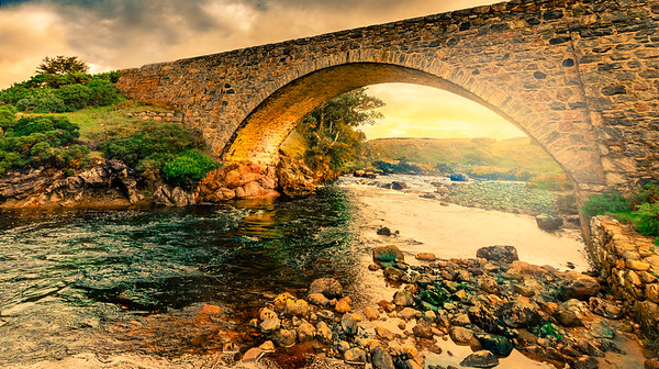 River Dionard Bridge, Lairg, West Highlands