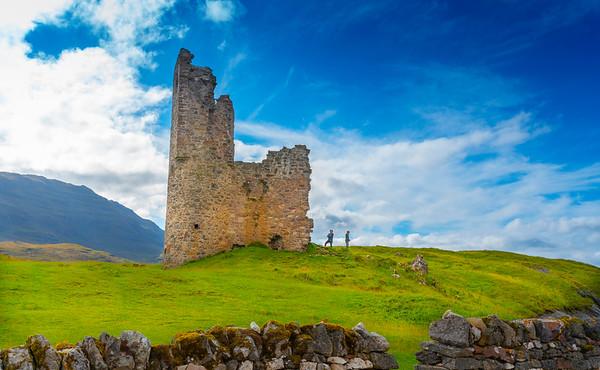 Ardvreck Castle, West Highlands
