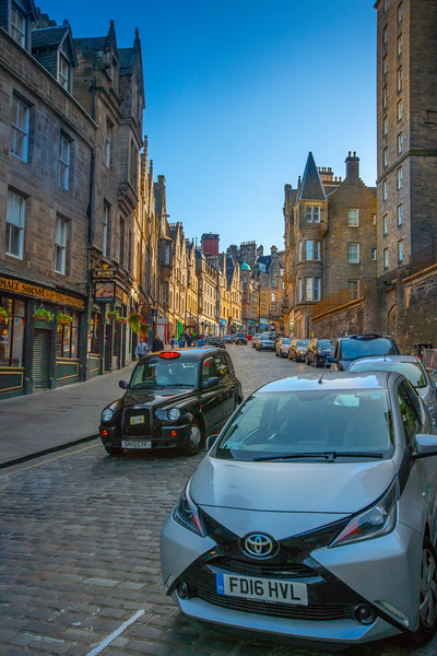 Lower Cockburn Street, Edinburgh