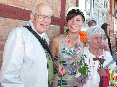 MALMO VERA with her Grandparents