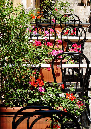 Chairs in Taormina