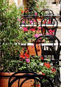 Chairs in Taormina