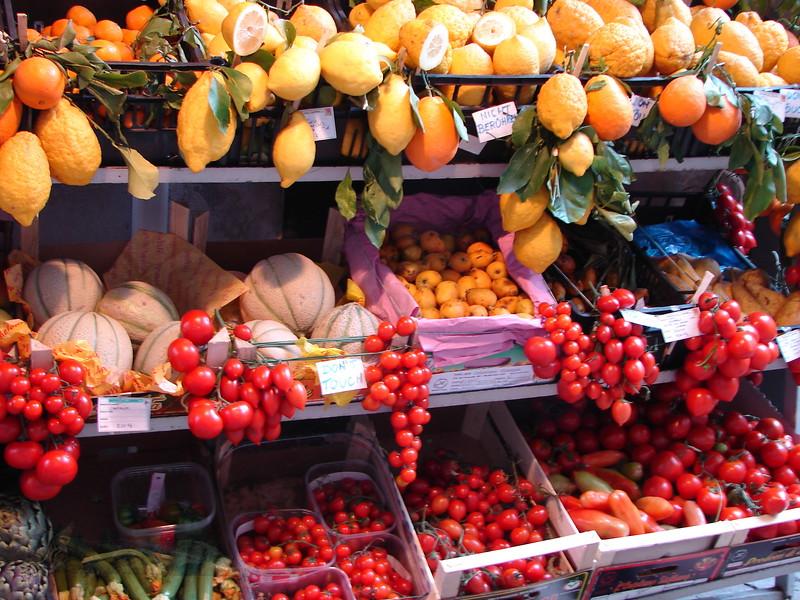 Fruit Stall in Sicily
