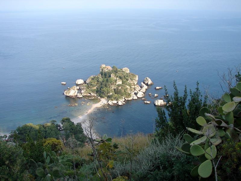 Islet off Sicily