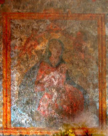 Fresco in a Church, Sicily