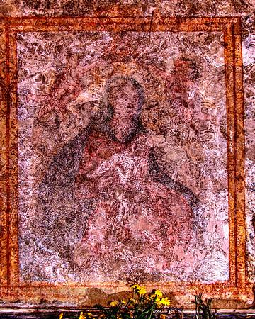 Fresco in Chiesa San Biagio, Sicily