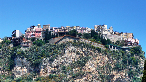 Hilltop Village, Sicily