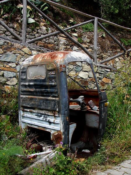 Van Abandoned in Sicily