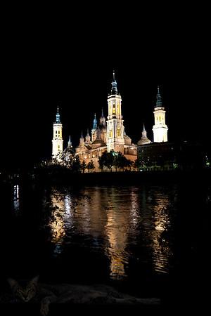 Basilica de Nuestra Senora de Pilar in Zaragoza, Spain