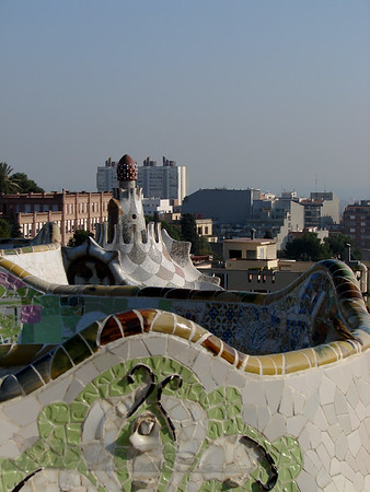 Gaudi Architecture in Barcelona