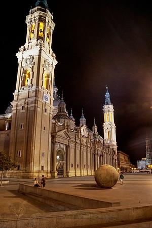 Basilica de Nuestra Senora de Pilar in Zaragoza