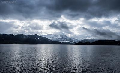 Lake Lucerne Cruise View