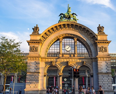 Lucerne Train Station Arch