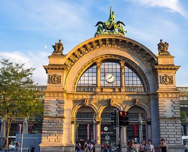 Lucerne Train Station Arch