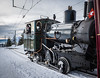 Old Train on Mt  Rigi