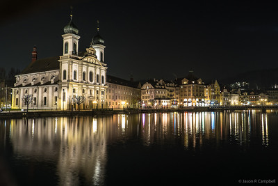 Lucerne Jesuit Church Reflection
