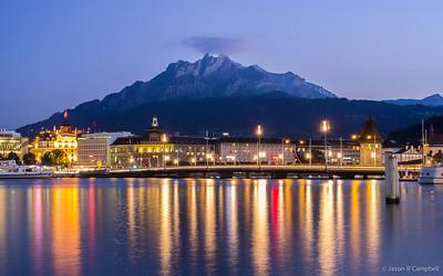 Lake Lucerne Reflections