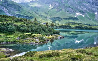 Lake Trubsee Reflection