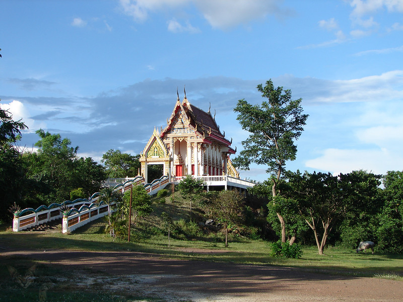Temple on a Hill - Thailand