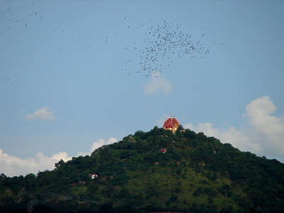 Temple on a Hill in Thailand