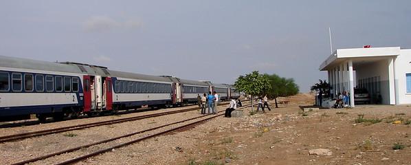 Broken Down Train - Tunisia