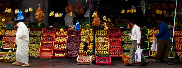 Fruit & Vegetable Market Stall