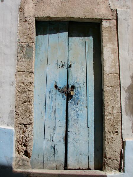 Doorway in Tunisia