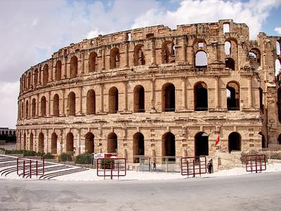 Amphitheatre at El Jem