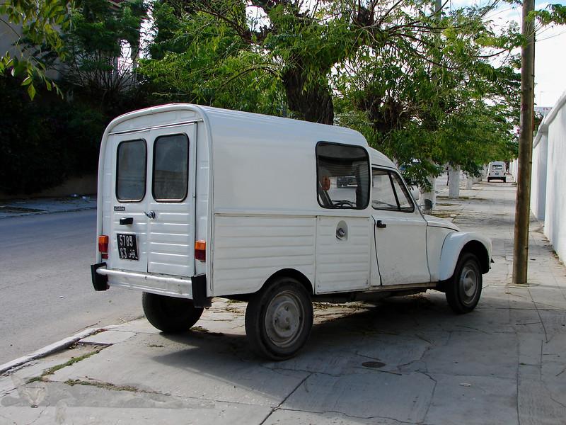 Van in Tunisia