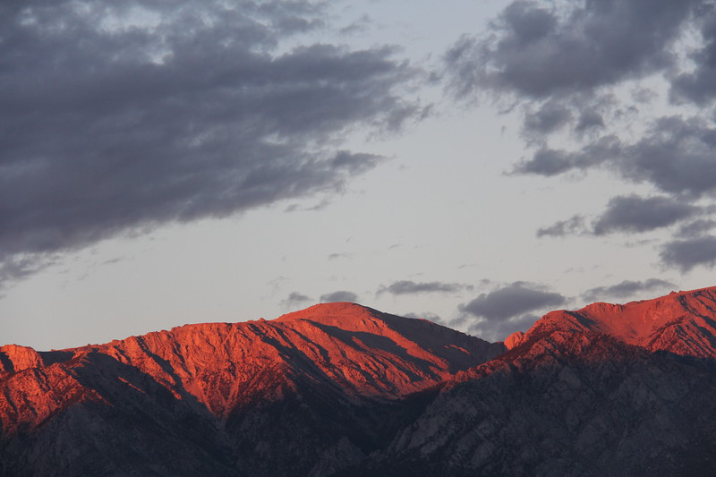 Sierras at Dawn 4, Lone Pine, California