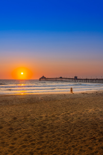 Imperial Beach Pier Sunset 2