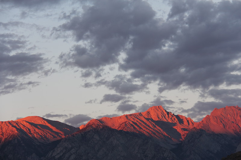 Sierras at Dawn 3, Lone Pine, California
