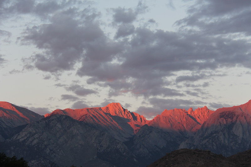 Sierras at Dawn 1, Lone Pine, California