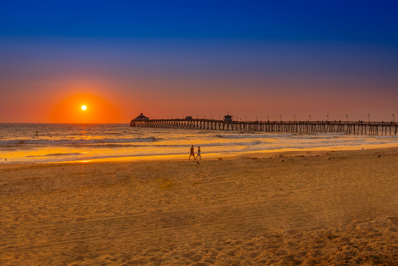 Imperial Beach Pier Sunset 1