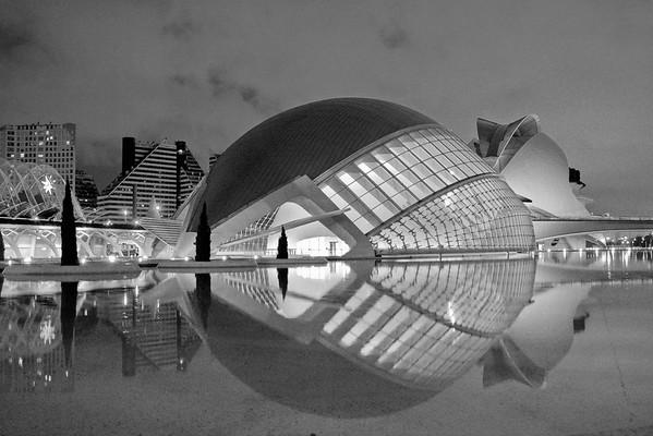 Ciudad de Las Artes y Las Ciencias, Spain