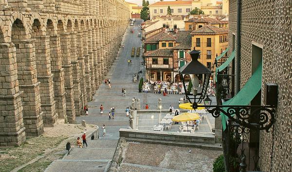 Acueducto Segovia, Spain