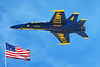 Blue Angeles flying over Huntington Beach California, Sept 30 2017