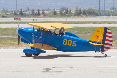 Home built Biplane