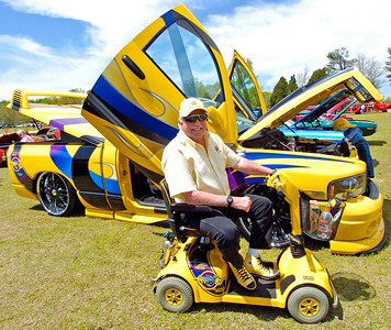 Bill Plancon from Villa Rica Ga. with his Custom and Modified Dodge Supertruck.