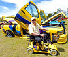 Bill Plancon from Villa Rica Ga. with his Custom and Modified Dodge Supertruck.