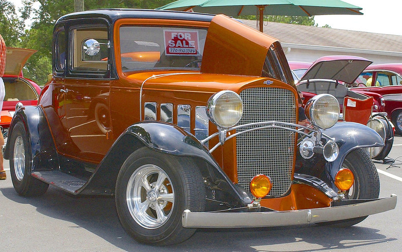 This was one cool old Chevy.