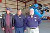 Korean War veterans from left, Gerald Carlson, Jack Van Ness and Don Colburn.