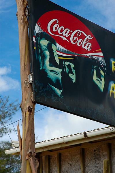 Moai Shop Sign<br /> -Easter Island, Chile