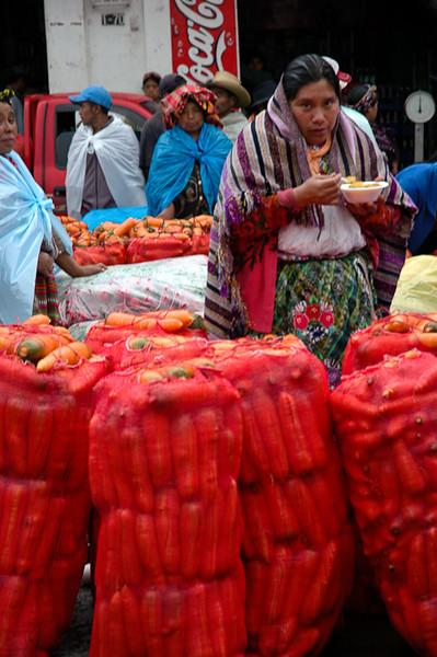 Carrot Sales<br /> -Zunil, Guatemala