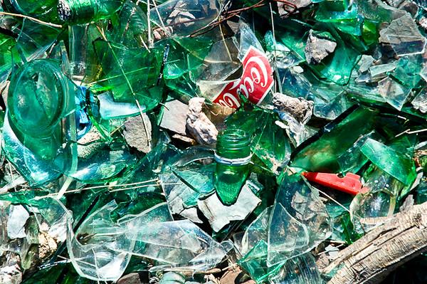 Broken Bottles<br /> -Uspallata, Argentina