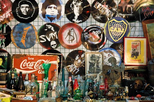 Wares at San Telmo Market<br /> -Buenos Aires, Argentina