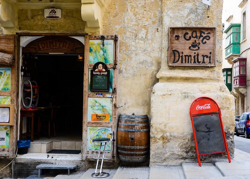 Café Dimitri<br /> -Valletta, Malta